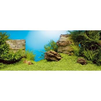 Juwel / Ювель Фон-пленка Juwel Poster камни / растительный 150х60см