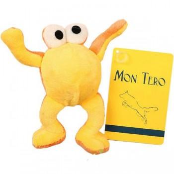 "Mon Tero / Мон Теро игрушка для собак ""Лягушка"", 6 см, оранж"