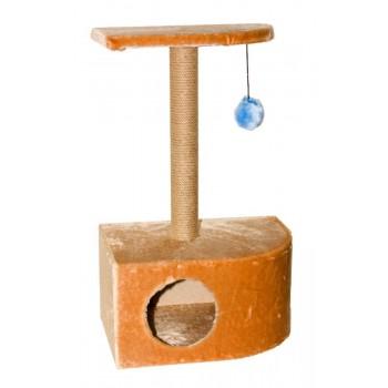 Yami-Yami / Ями-Ями Домик Угловой с пумпоном, сизаль, 35*48*81см (8112с)