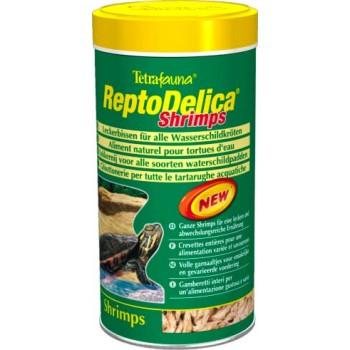 Tetra / Тетра ReptoMin Delica Shrimps корм с креветками для водных черепах 1 л