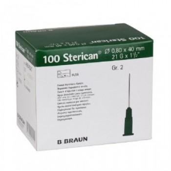 B.Braun / Б.Браун Игла пункционная Стерикан 21G/0.80 мм, 40 мм (упак 100 шт)