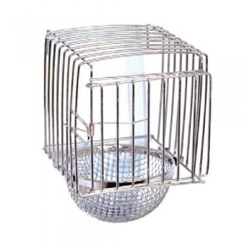 Triol / Триол BR-27 Кормушка для птиц метал. 11,5х10х4,3см(б