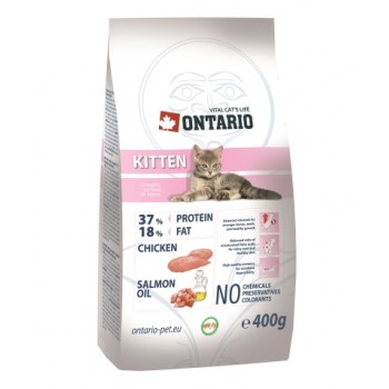 Ontario / Онтарио для котят с курицей 0,4 кг