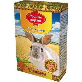 Родные корма Корм для кроликов 400 г овощи 1х14 3727