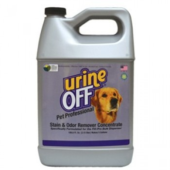 Urine OFF / Юрин Офф, Средство для уничтожения пятен и запахов от домашних животных, концентрат, 3,150мл UO Stain & Odor Remover Concentrate, 106,6 fl oz