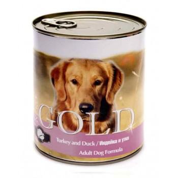 "Nero Gold / Неро Голд для собак ""Индейка и утка"" 0,81 кг"