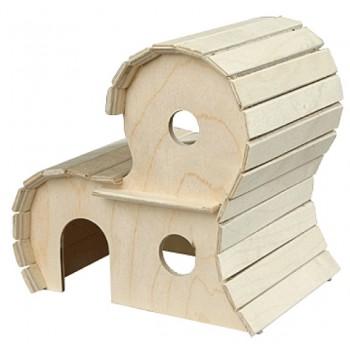 Yami-Yami / Ями-Ями Домик для грызунов деревянный 2-х этажный (8552)