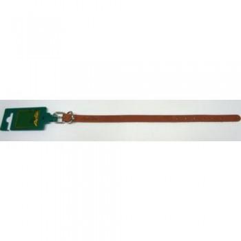 Аркон Ошейник кожаный 14/1, размер 22-29 см x 14 мм, цвет коньячный, о14/1к, один слой кожи (32385)