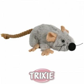 """Trixie / Трикси Игрушка д/кошек """"Мышь серая"""", плюш 7см 45735"""