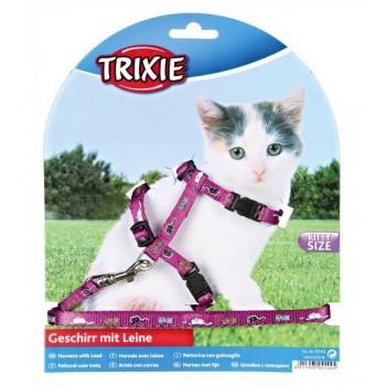 Trixie / Трикси Шлейка д/КОТЯТ нейлон 21-32см*8мм 4144