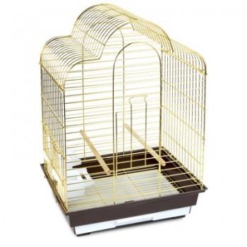 Triol / Триол Клетка 6113G для птиц, золото, 465*360*650мм