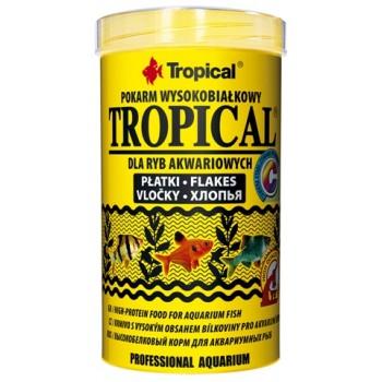 Tropical / Тропикал 770252/85892 корм для аквариумных рыб высокобелковый (хлопья) Tropical 500 мл/100гр
