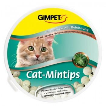 """Gimpet / Гимпет ВитаМиниз. лакомство """"Cat-Mintips"""" с кошачьей мятой д/кошек, 90 шт 50 г"""