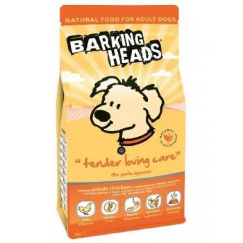 """Barking Heads / Баркинг Хедс Для Собак с Чувствительным пищеварением с курицей и рисом """"До последнего кусочка"""", 2 кг"""