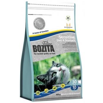 Bozita / Бозита Funktion Sensitive Diet&Stomah сух.корм д/кошек с чувствительным пищевариением 400гр