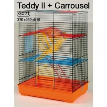 Iнтер-Zоо / Интер-Зоо Клетка д/грызунов с каруселью TEDDY II 370*250*510см (G021)