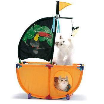"""Kitty City Игровой комплекс для кошек: Карибская жемчужина. """"Caribbean Cruiser"""": 86*60*31см (pl0337)"""