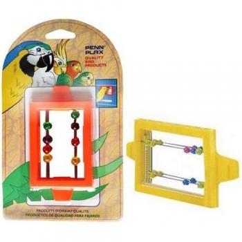 Penn-Plax / Пен-Плакс Игрушка для птиц Зеркало с бусинками (1х12) ВА507