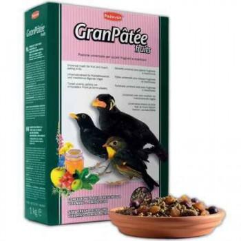 Padovan / Падован 01920 GranPatee fruits Корм д/насекомоядных птиц с фруктами 1кг