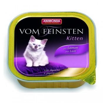 Animonda Vom Feinsten Kitten конс. 100 гр. с Ягненком для котят (ламистер) 83453