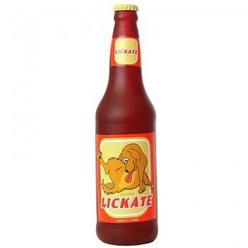 "Silly Squeakers Виниловая игрушка-пищалка для собак Бутылка пива ""Облизывательно"" (Beer Bottle Likate) SS-BB-LK"