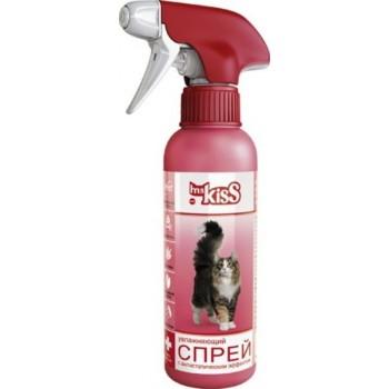 Ms.Kiss / М. Кисс Спрей для ухода за шерстью кошек с антистатическим эффектом 200 мл