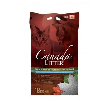 """Canada Litter Канадский комкующийся наполнитель """"Запах на Замке"""", аромат детской присыпки"""
