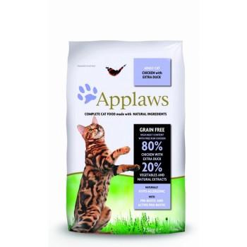 "Applaws / Эпплаус для кошек ""Курица и Утка/Овощи: 80/20%"" 7,5 кг"