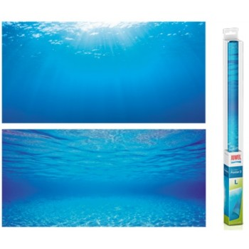 Juwel / Ювель Фон-пленка Juwel Poster голубая вода 100х50см