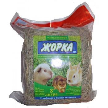 Жорка Луговое сено для грызунов, 3 л 500 гр.