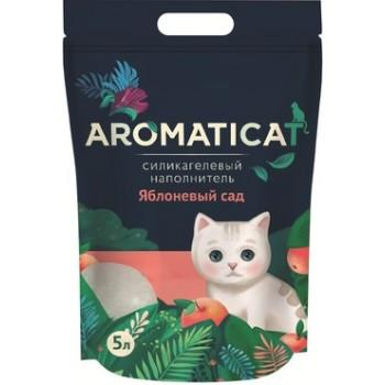"""AromatiCat / АроматиКэт Силикагелевый наполнитель """"AromatiCat"""" 5л. Яблоневый сад"""