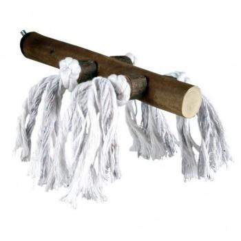 Trixie / Трикси Жердочка деревянная 20см с веревкой 5888
