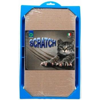 Georplast / Георпласт SCRATCH Когтеточка для кошек 37x23x3,5см