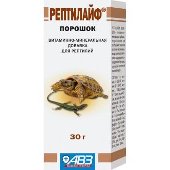 АВЗ РЕПТИЛАЙФ для рептилий витаминно-минеральная добавка порошок, 30 гр