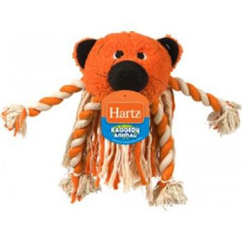 Hartz / Хартц Игрушка д/собак - Трепалка-экзотическое животное, мягкая Raggery Animals Dog Toy