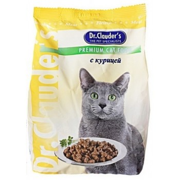 Dr.Clauder's / Др.Клаудер'c Корм д/кошек Курица 15кг