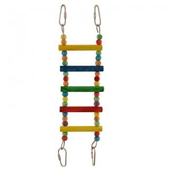 "Triol / Триол Игрушка для птиц ""Лестница малая"", 280*75мм"