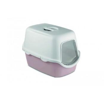 Stefanplast / Стефанпласт Туалет закрытый Cathy, пудровый с угольным фильтром, 56*40*40см