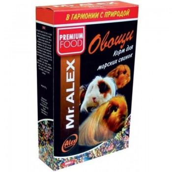 Mr. Alex / Мр. Алекс Basic корм д/морс.свинок Овощи 500 гр