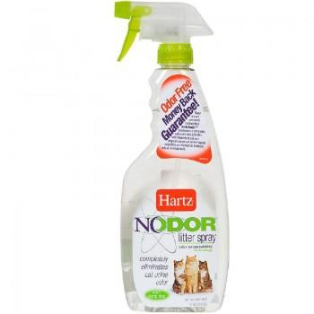 Hartz / Хартц Средство, уничтожающее запахи в кошачьих туалетах (без ароматизатора), 503 мл Nodor litter spray (unscented)