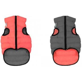AiryVest / ЭйриВест курточка двухсторонняя, размер M 50, кораллово-серая
