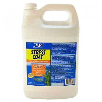 API / АПИ Стресс Коат - Кондиционер для декоративных рыб и воды Stress Coat, 473 ml