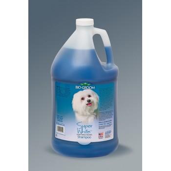 Bio-Groom / Био Грум Super White Shampoo шампунь для собак супербелый 3,8 л