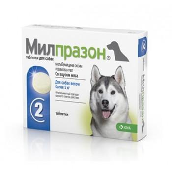 Милпразон антигильминтик для собак таблетки 2x12,5 мг / 125 мг