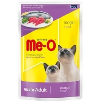 Ме-О Adult пауч д/кошек №9 Тунец в желе 80г 92803