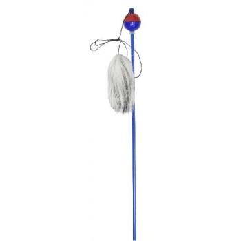 Зооник Удочка пластиковая 50см с мехом