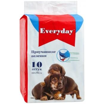 Everyday впитывающие пеленки для животных гелевые 10шт 60х90см