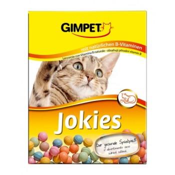 """Gimpet / Гимпет ВитаМиниз. лакомство """"JOKIES"""" (компл. вит. В), д/кошек 400 шт 520 г"""