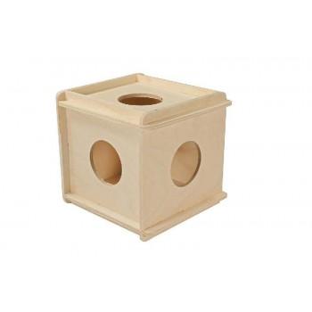 Darell / Дарэлл Игрушка для грызунов кубик большой деревянный 8522