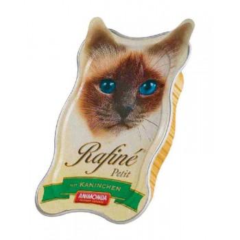 Animonda Rafine Petit конс. 85 гр. Паштет из кролика для взрослых кошек (ламистер) 83470